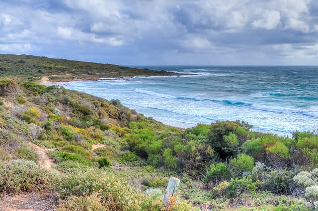 Smiths Beach is a well know surfing and swimming beach close to Canal Rocks in Western Australia